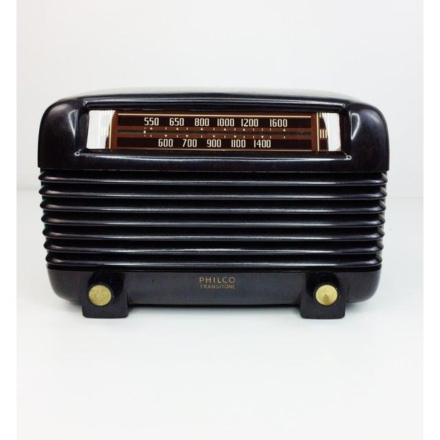 1946 Vintage Philco Transitone Tube Am Radio - Image 2 of 7