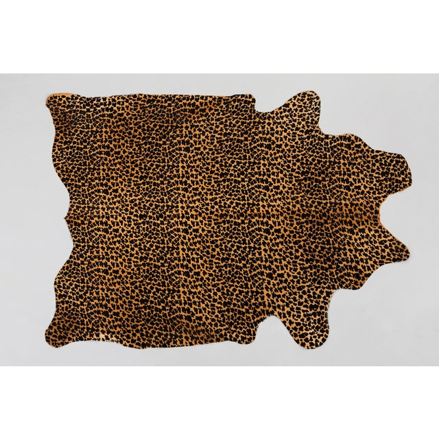 Contemporary Genuine Brazilian Cowhide, Leopard For Sale - Image 3 of 3