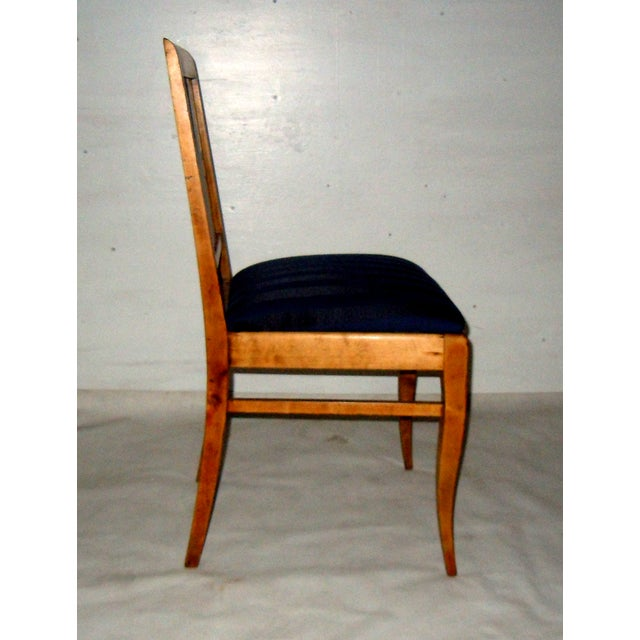 19th C. Swedish Single Side Chair - Image 4 of 6