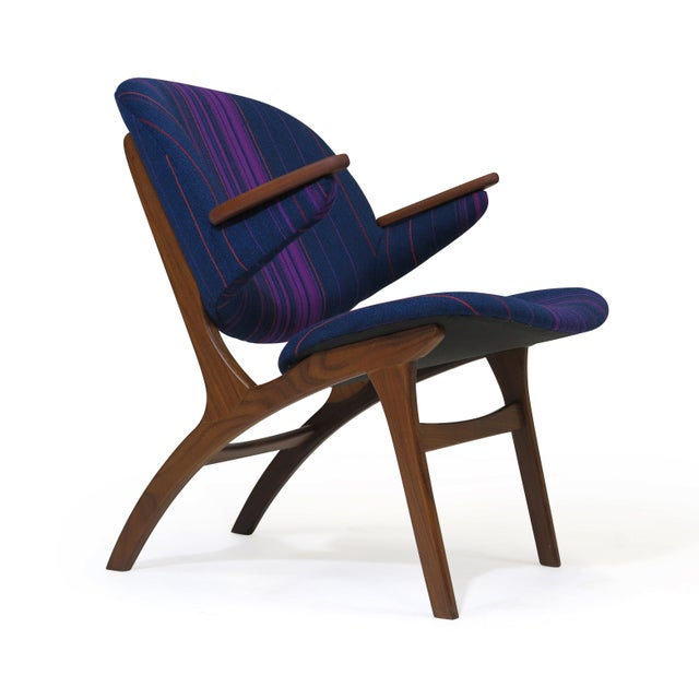 Mid 20th Century Carl Edward Matthes Danish Teak Lounge Chairs - a Pair For Sale - Image 5 of 10