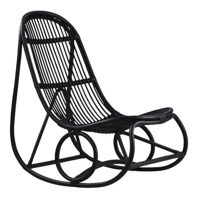 Nanna Ditzel Nanny Rocking Chair - Black For Sale