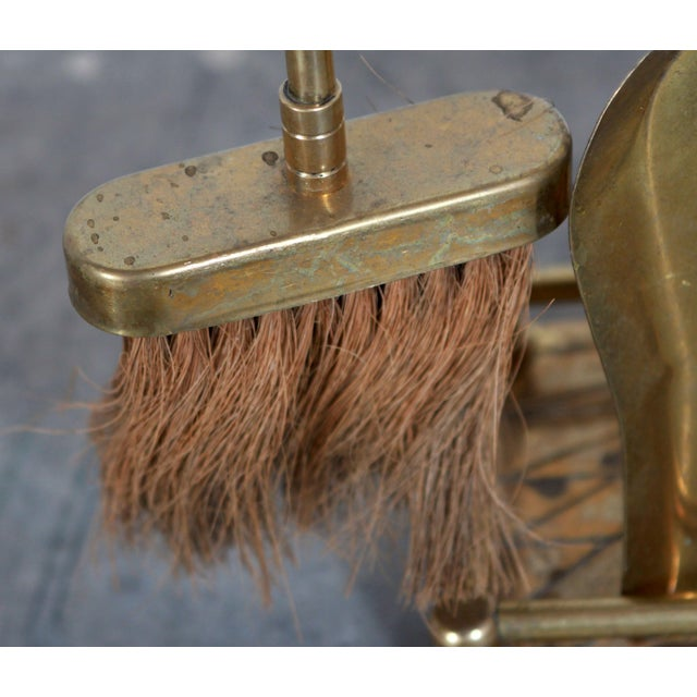 Clean your fireplace pokers and tongs using a Brass and Copper Bath