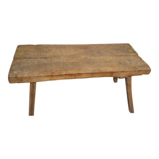 19th Century Rustic Oak Dining Table For Sale