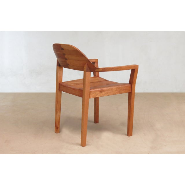 Mid Century Modern Dining or Desk Chairs Sustainably Sourced Royal Mahogany. Xiloa Chairs - 4 - Image 7 of 9
