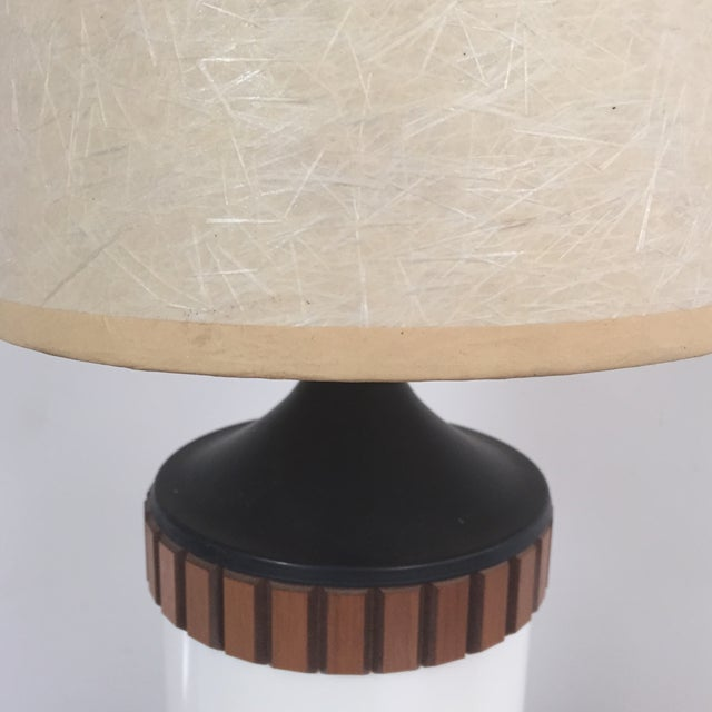 Mid-Century Cylinder Table Lamp - Image 10 of 10