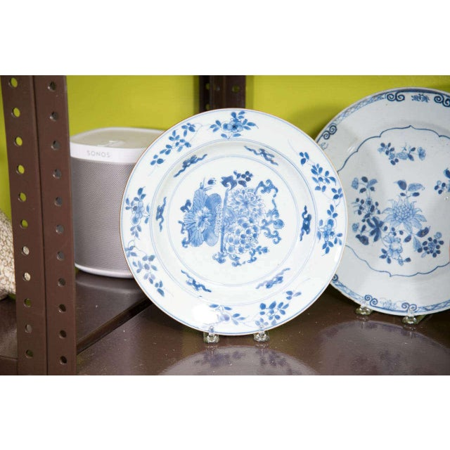 Mid 19th Century Chinese Export Porcelain Plates For Sale - Image 5 of 10