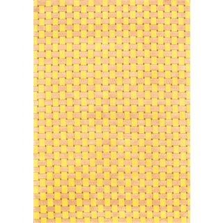 """Hand Knotted Modern Wool Rug - 5'8"""" X 8'"""