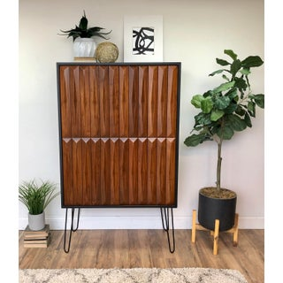 1960's Mid Century Modern Armoire Preview