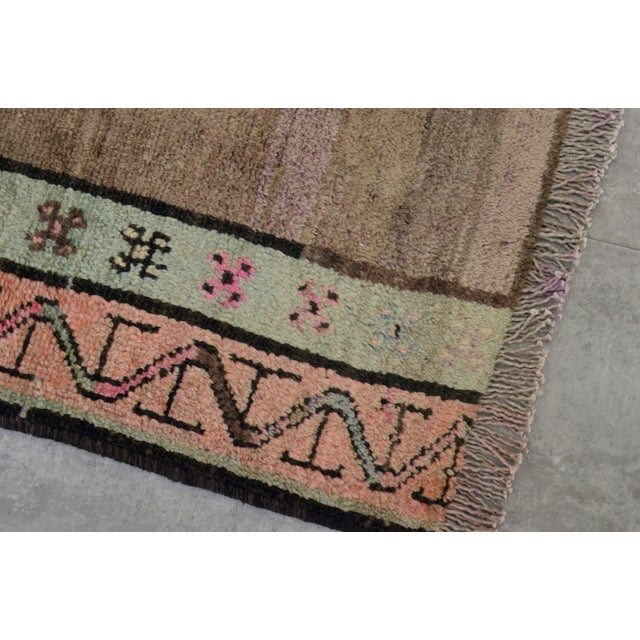 """Turkish Hand-Knotted Runner Rug - 5'7"""" x 13'9"""" - Image 4 of 11"""