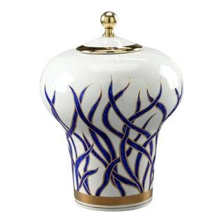 Hamilton Transitional Ceramic Urn For Sale