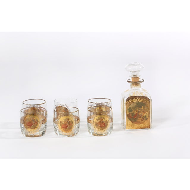 Contemporary Mid 20th Century Barware Service for Six People For Sale - Image 3 of 11