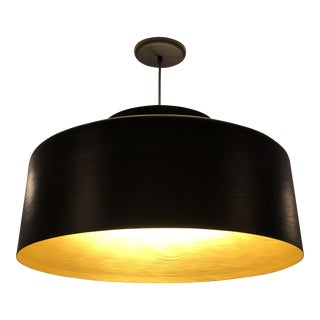 Brendan Ravenhill Grain Drum Light Fixture For Sale