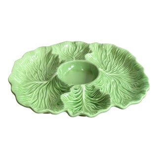 1970s Cabbage Ware Serving Tray For Sale