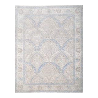 21st Century Tabriz Hand-Knotted Rug - 9′2″ × 11′5″ For Sale