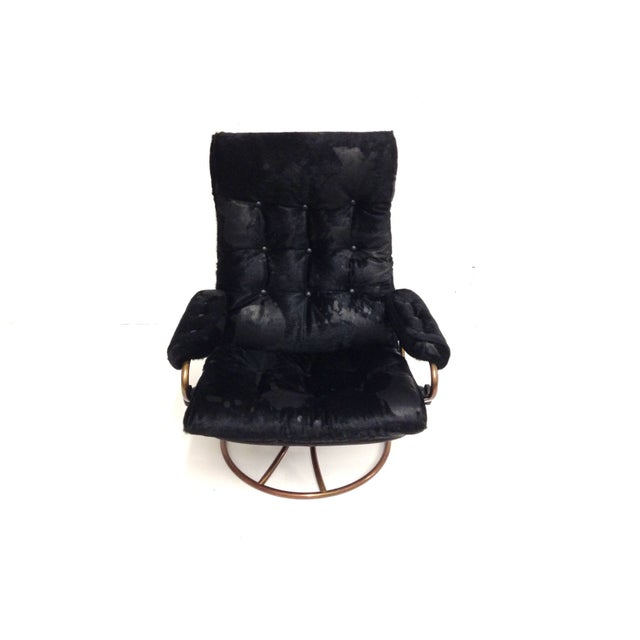 Ekornes Mid-Century Modern Lounge Chair - Image 2 of 7