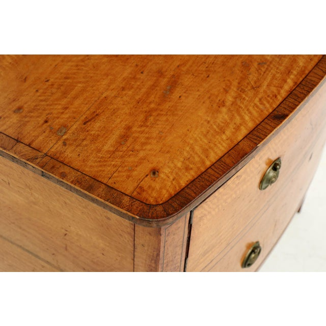 C. 1780 George III Satinwood Commode - Image 7 of 10