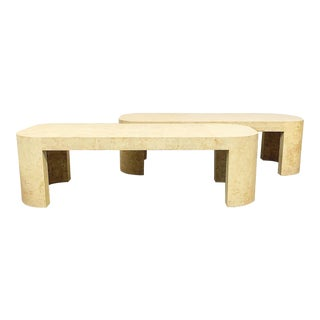 Two Luten Clarey Stern Coffee Tables For Sale
