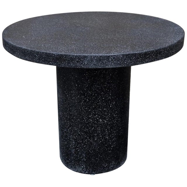 Cast Resin 'Spring' Dining Table, Coal Stone by Zachary A. Design For Sale - Image 10 of 10