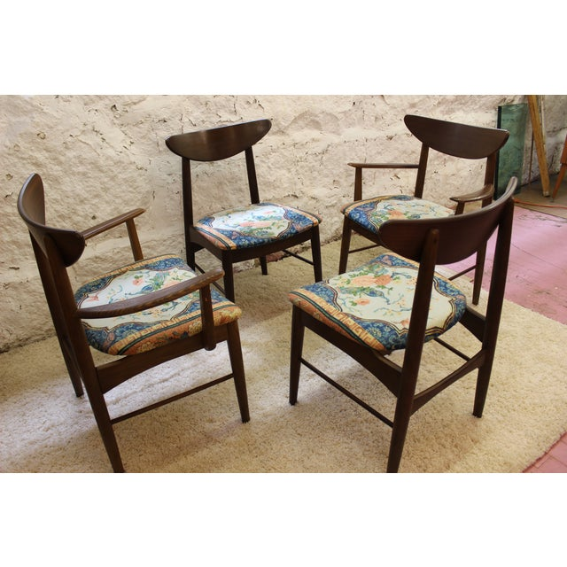 Midcentury Modern Dining Chairs: Mid Century Modern Dining Chairs - Set Of 4