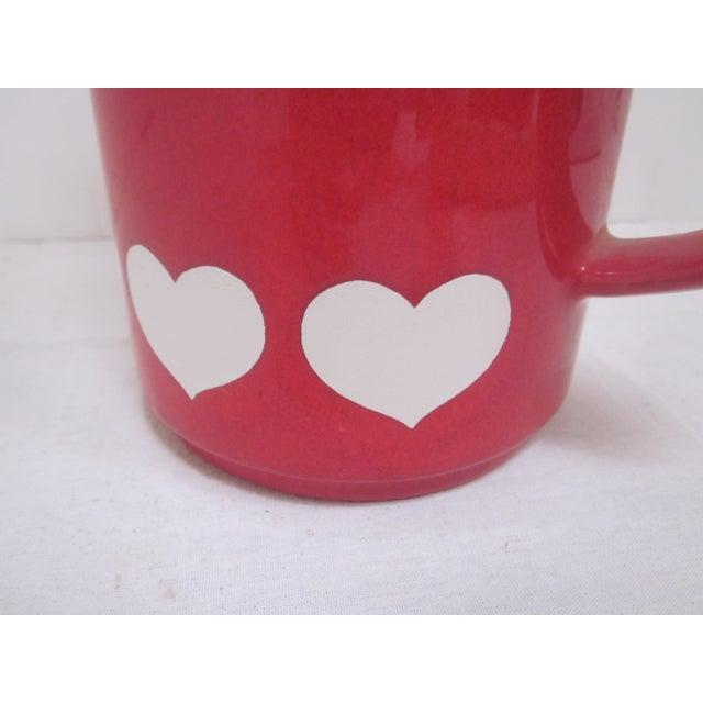 Waechtersbach German Red Heart Teapot - Image 4 of 7
