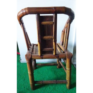 Antique Chinese Bamboo Armchair Preview