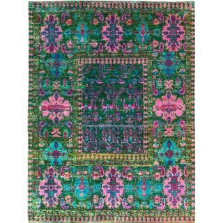 """Rug & Kilim Hand Knotted Oushak-7'8'x9'7"""" For Sale"""