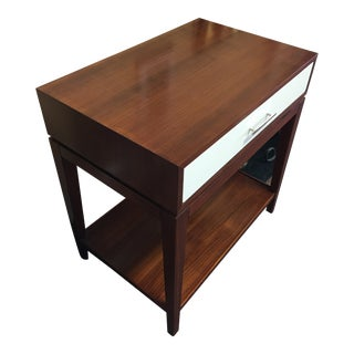 Contemporary Mitchell Gold Hughes Side Table For Sale