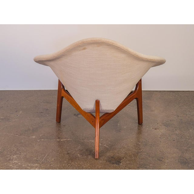 Adrian Pearsall Rare Adrian Pearsall Coconut Chair For Sale - Image 4 of 10