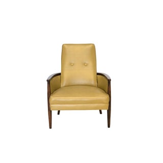 Mid Century Modern Walnut Framed Chair Preview
