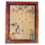 Image of Early 20th Century Chinese Art Deco Rug - 9′ × 11′5″ For Sale
