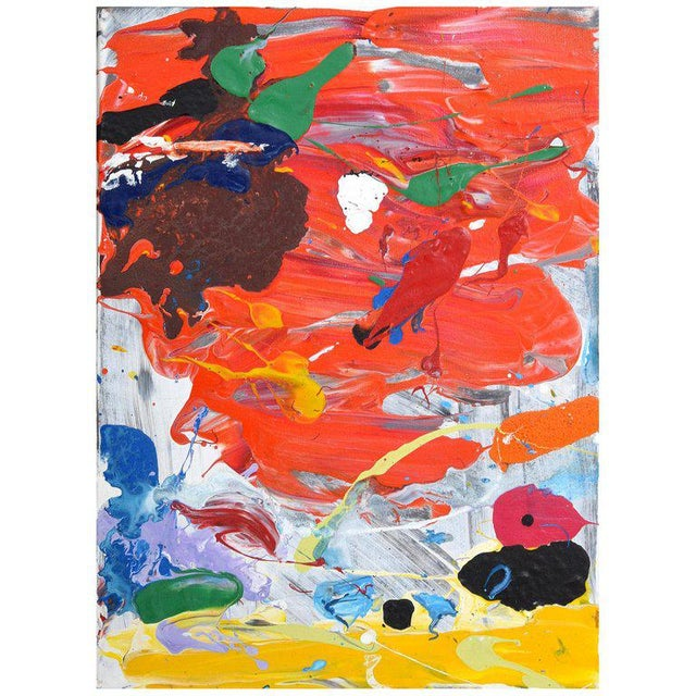 1980s Abstract Painting by John Seery For Sale - Image 10 of 10