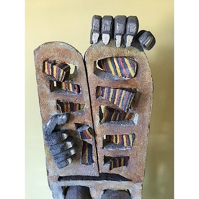 Primitive Cast Iron Sculpture For Sale - Image 5 of 7