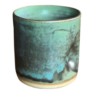 """""""The Wine Cup"""" Hand Thrown Stoneware Cup For Sale"""