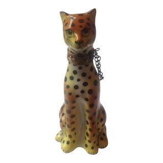 Eximious Limoges France Leopard Figurine