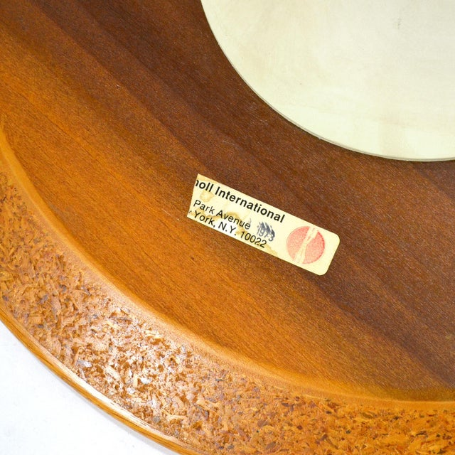 Eero Saarinen Tulip Side Table With Oak Top by Knoll For Sale - Image 9 of 10