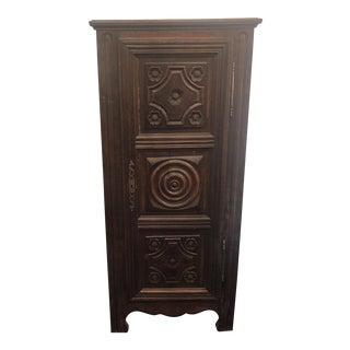 C.1890 Single Door Cabinet For Sale