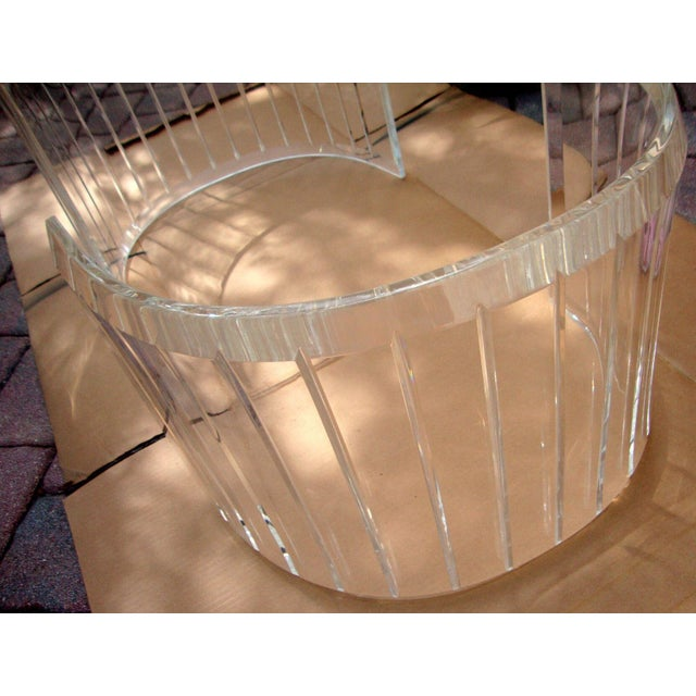 Mid-Century Lucite Coffee Table Bases - A Pair - Image 2 of 9