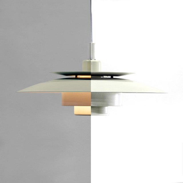 Denmark 1970s Simon P. Henningsen for Lyskaer Belysning Pendant Light For Sale - Image 9 of 10