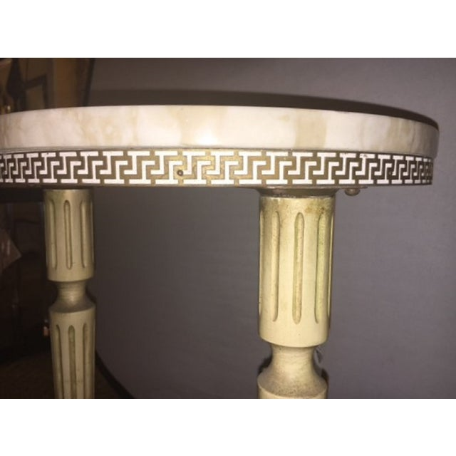 French Directoire Marble End Table - Image 5 of 6