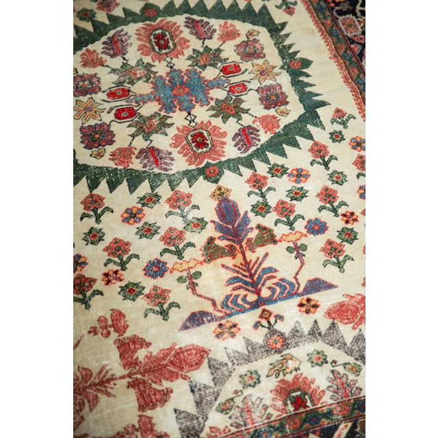 """Antique Farahan Sarouk Rug - 4'3"""" X 6'1"""" For Sale In New York - Image 6 of 13"""
