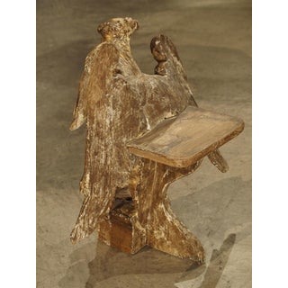 Small 18th Century Italian Giltwood Eagle Bookholder or Stand Preview