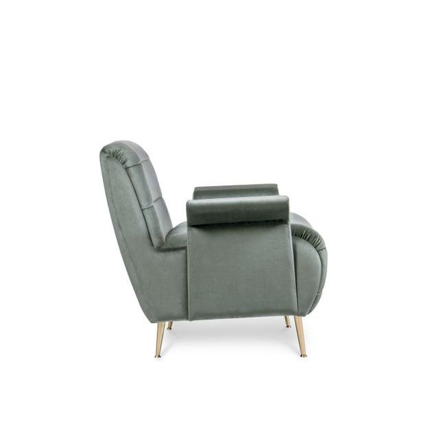 Modern Covet Paris Bardot Armchair For Sale - Image 3 of 5