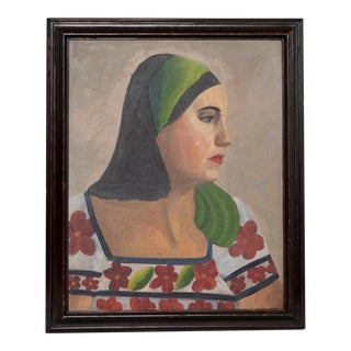 1930s Portrait of Mexican Woman