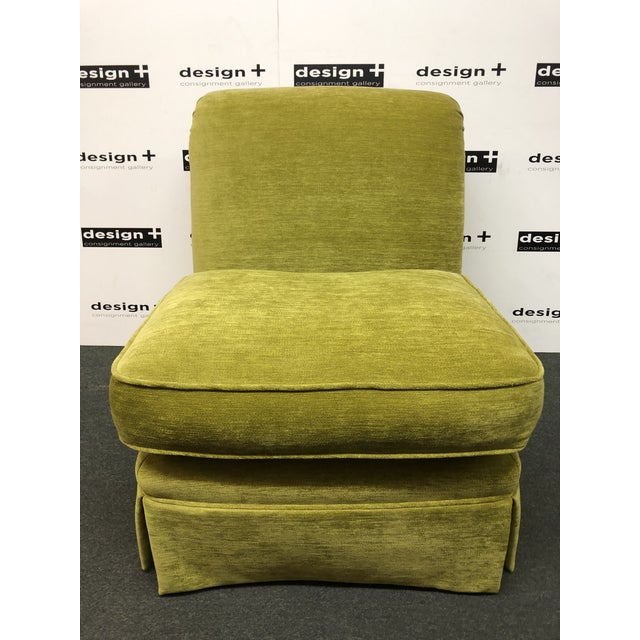 Manuel Canovas Slipper Chairs, a Pair For Sale - Image 9 of 11