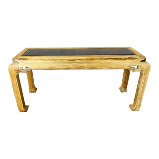 Vintage Bleached Ming Style Console Table For Sale
