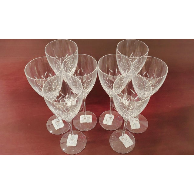Kate Spade Kate Spade Lenox Beacon Street Goblets- Set of 8 For Sale - Image 4 of 4