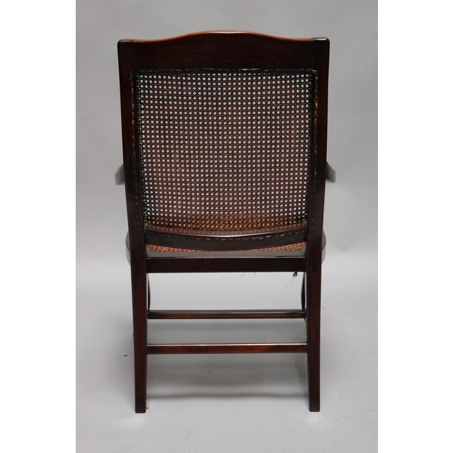 Asian Guangdong Ironwood Colonial Armchair For Sale - Image 3 of 7
