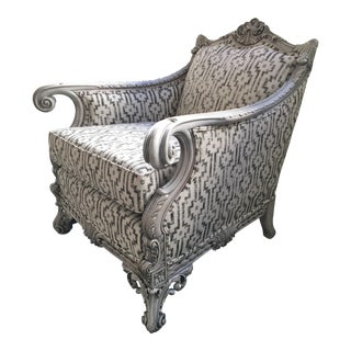 Baroque Arm Chair For Sale