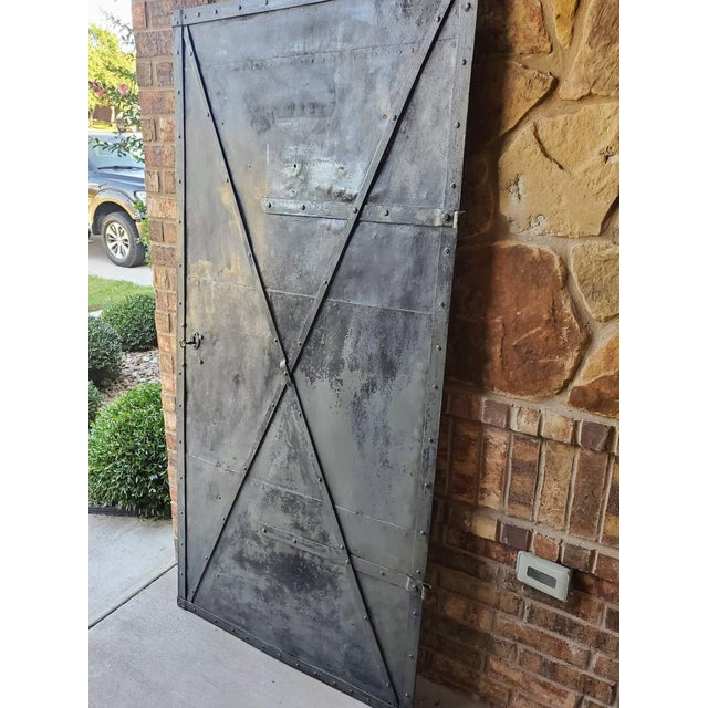 Mid 19th Century Iron Cellar Door For Sale - Image 4 of 11