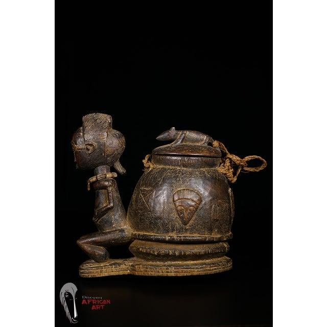 Baule African Tribal Divination Bowl - Image 6 of 11